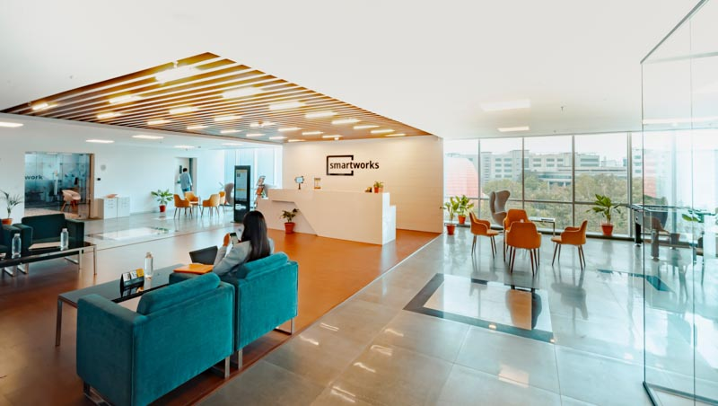 An example of an office space plan